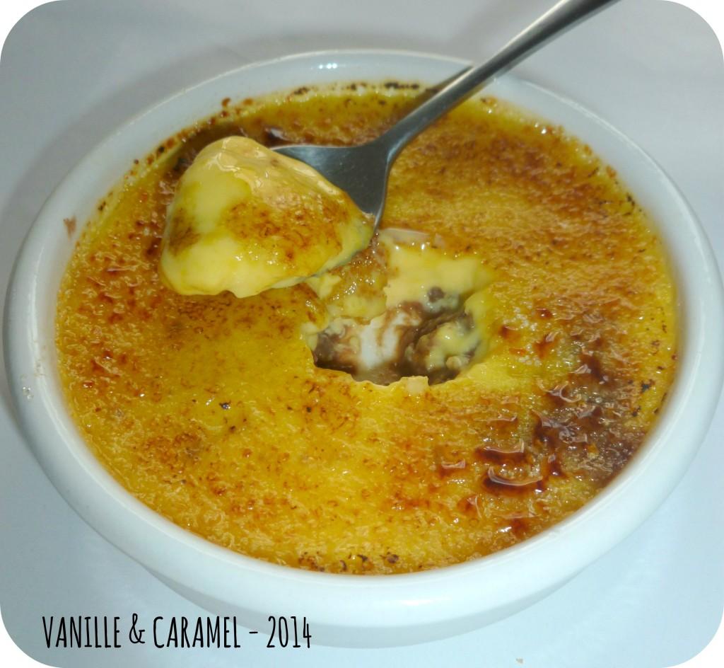Creme brulee sncikers Vanille et Caramel 2