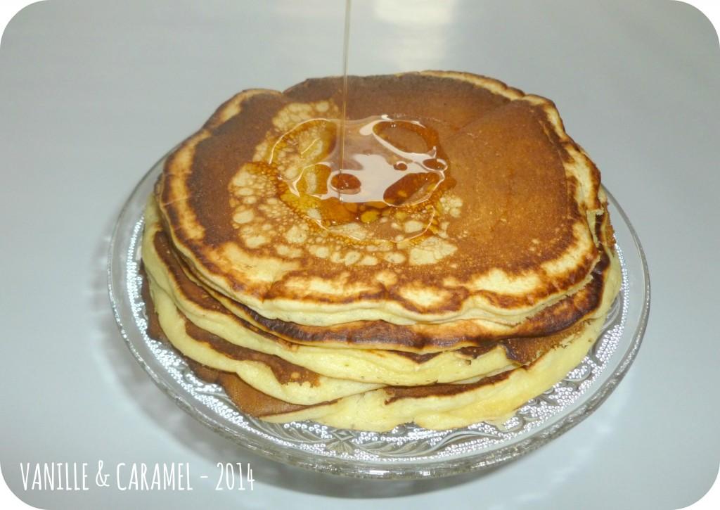 Pancakes sirop d'érable Vanille et Caramel