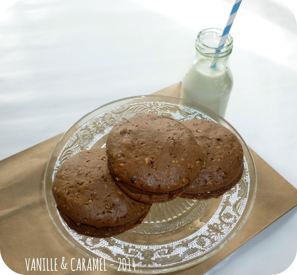 Whoopies nutella 5 Vanille et Caramel