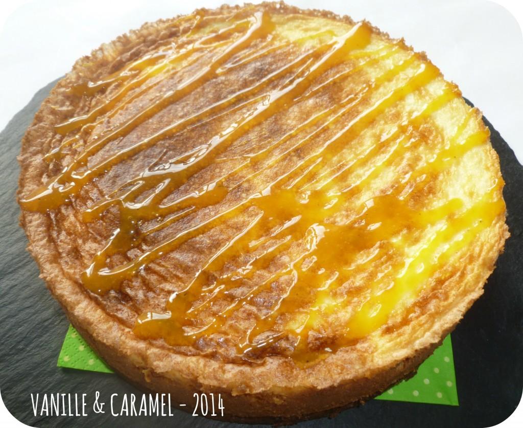 Cheese cake Vanille et Caramel