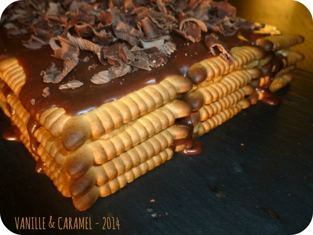 Moka aux petits-beurre Vanille et Caramel