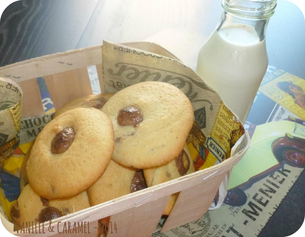 Cookies kinder Vanille et Caramel