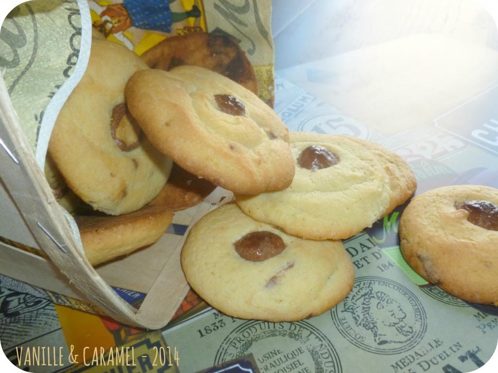 Cookies kinder 2 Vanille et Caramel