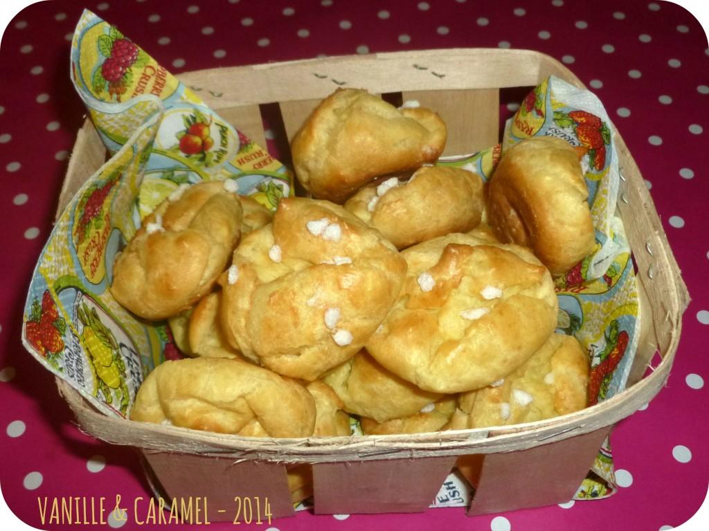 Chouquettes Vanille et Caramel
