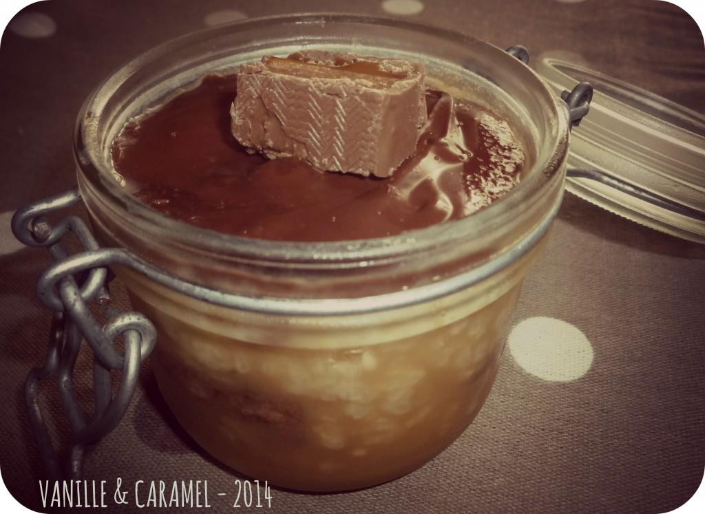 Riz au lait mars Vanille et Caramel