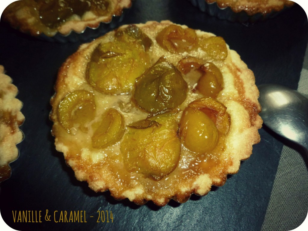Tartelette d'été 2 Vanille et Caramel