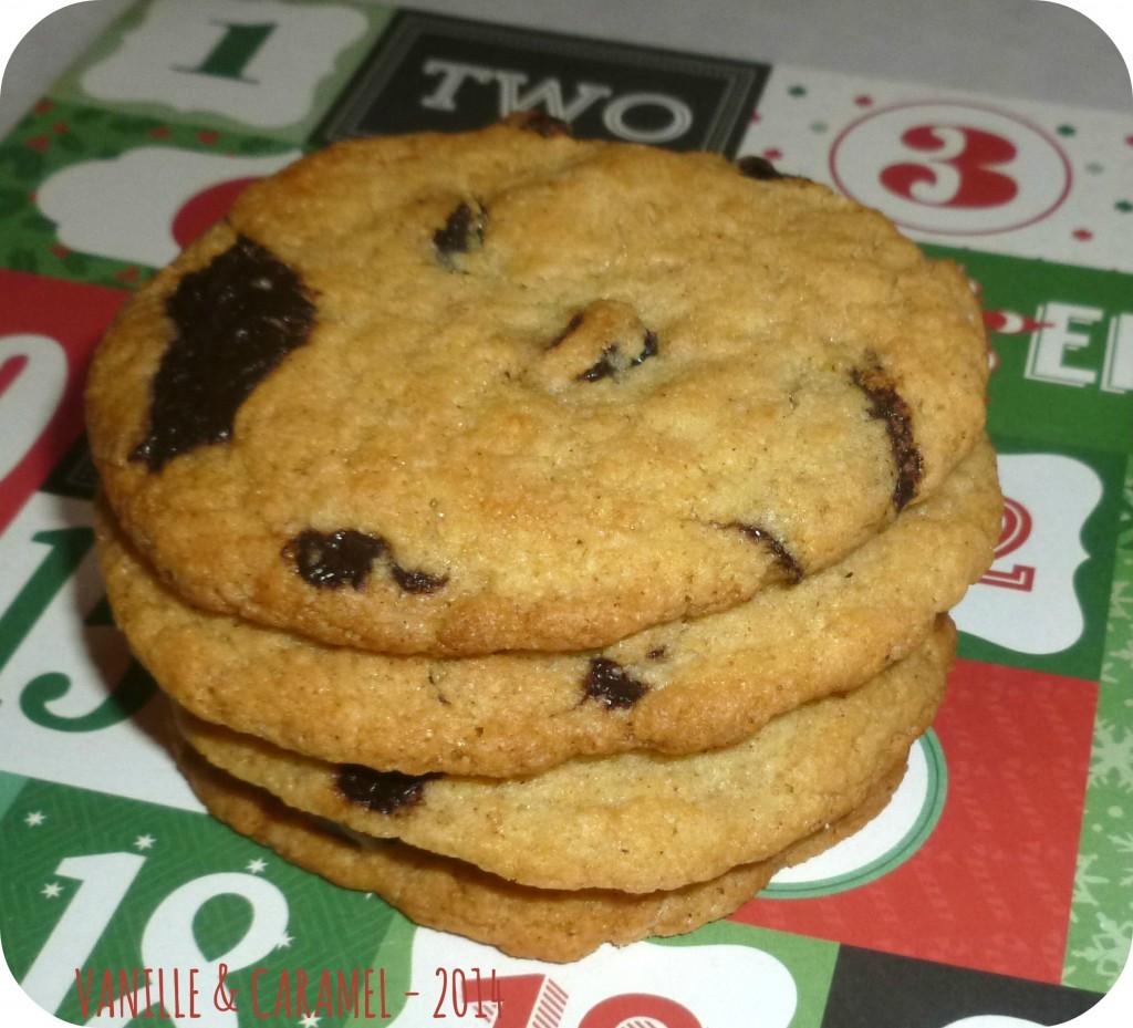 Cookies noel Vanille et Caramel