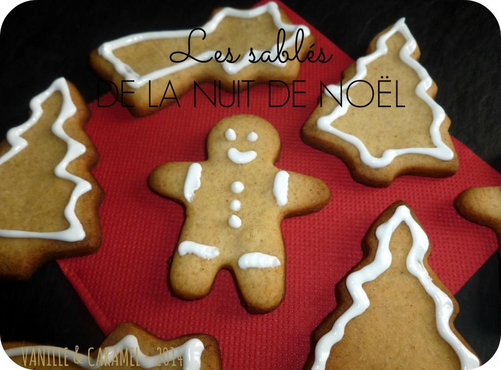 Les sablés de noel Vanille et Caramel