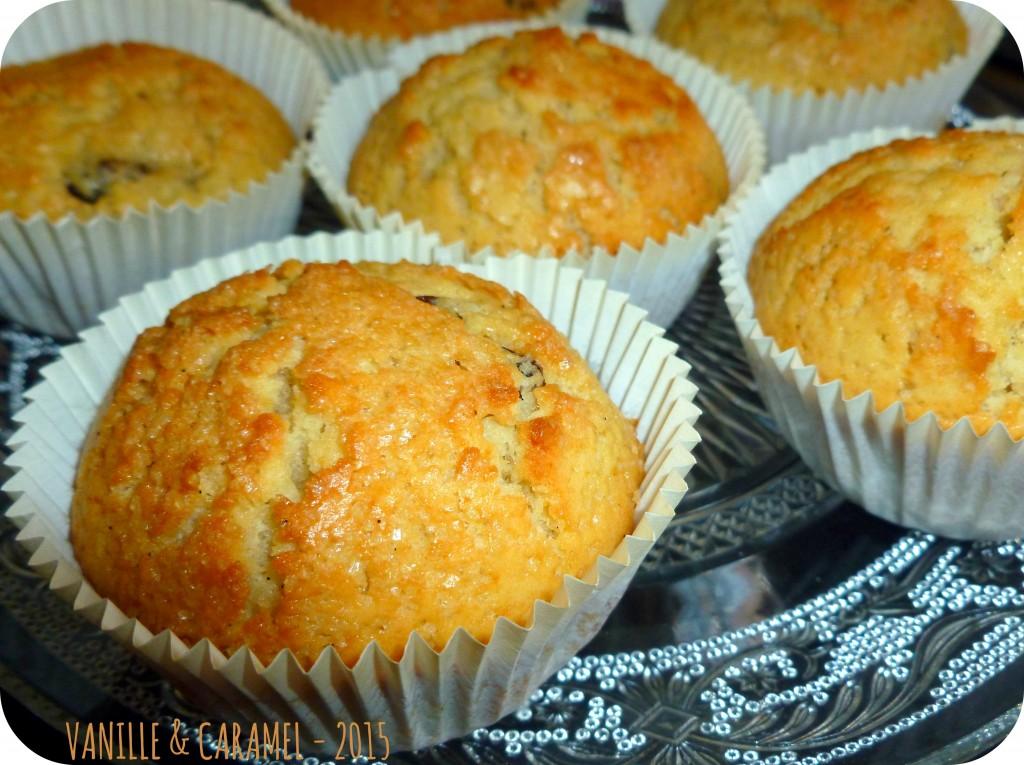 Muffins rhum raisins 2