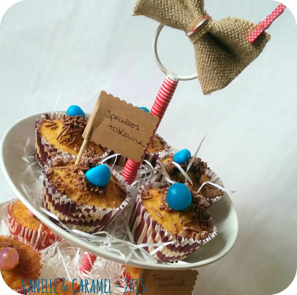cupcakes speculoos toblerone